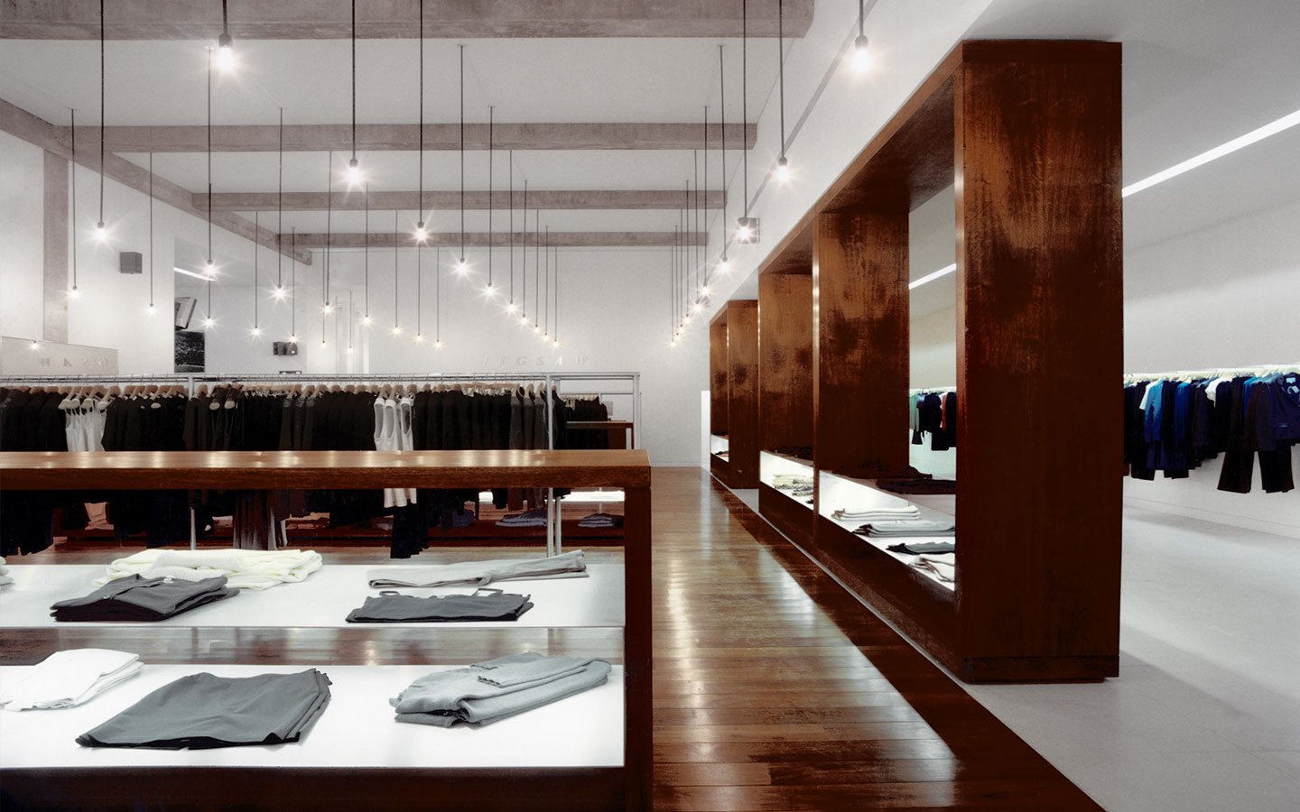 jigsaw retail interior design