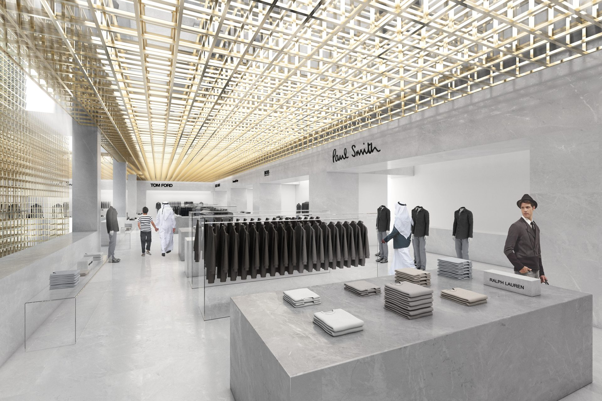 harvey nichols retail design